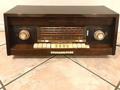 vintage Mid century Grundig majestic Model 5199 WE STEREO - SOLD AS IS