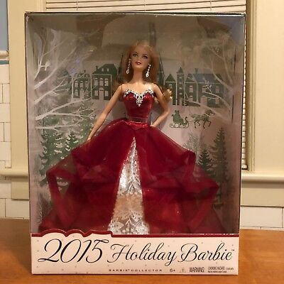 2015 Holiday Barbie Doll / Barbie Collector / NRFB / Mattel