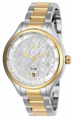 27436 Invicta 38mm Women's  'Angel' Gold-Tone and Silver Stainless Steel Watch