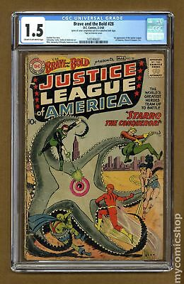 Brave and the Bold (1st Series DC) #28 1960 CGC 1.5 1497466001