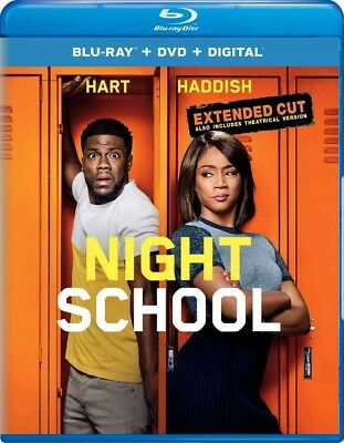 Night School  Extended Cut (Blu-ray ) **see details ** Kevin Hart