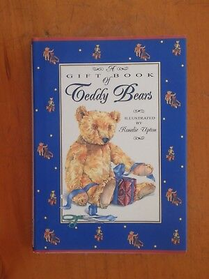 A Gift Book of Teddy Bears, Illustrated by Rosalie Upton (Hardcover, DJ)
