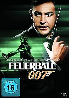 James Bond - Feuerball von Terence Young | DVD | Zustand sehr gut