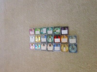 Used Recordable MD Minidiscs