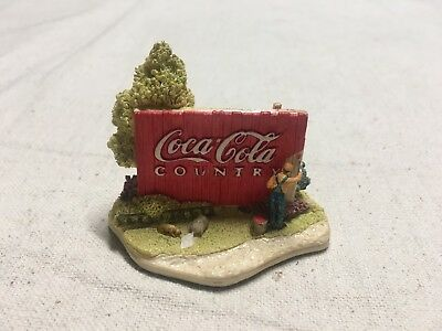 Coca-Cola Country Canvas #L2070 1996 Collectables Figurines Designed By Ray Day/