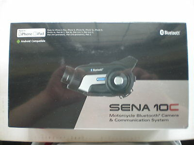 Sena SMH10C Motorcycle Bluetooth Action Camera And Headset Intercom System