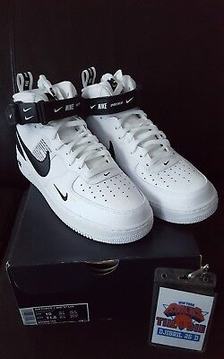 Nike Air Force 1 Mid  '07 LV8 Utility JDI 804609 103 Off White Fragment Yeezy