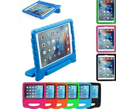 "TOUGH KIDS SHOCKPROOF EVA FOAM STAND CASE COVER FOR APPLE iPAD 9.7""  2017 2018"