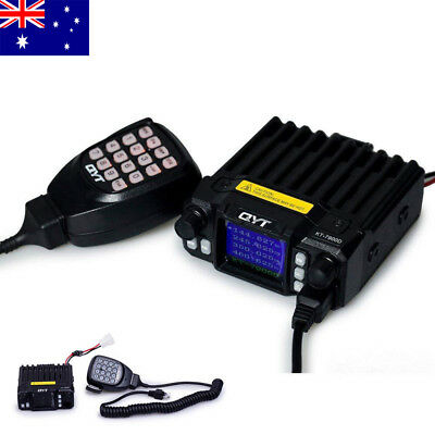 Car QYT KT-7900D 25W Quad Band 136-174/220-260/350-390/400 MHZ Radio AU Stock