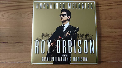 """Roy Orbison - Unchained Melodies, The Royal Philharmonic (NEW 2 x 12"""" VINYL LP)"""