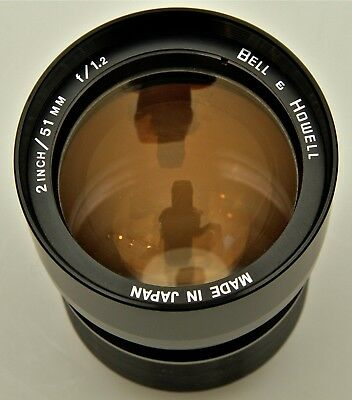 BELL & HOWELL  51mm f1.2 16mm PROJECTOR LENS
