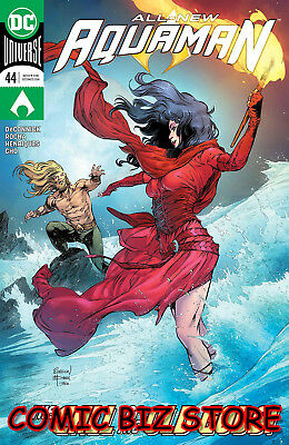 Aquaman #44 (2019) 1St Printing Dc Universe Main Cover Bagged & Boarded Dc Univ