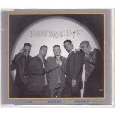 BACKSTREET BOYS I'll Never Break Your Heart CD UK Jive 1996 3 Track Part 2