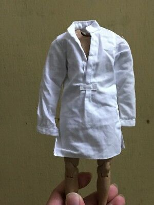 "1:6 Scale Men's Clothing White Shirt For 12"" Male Body Doll"