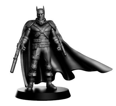 Batman miniature post apocalyptic 32mm Warhammer D&D Dungeons  Pathfinder DC