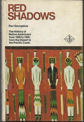 Red Shadows by Dan Georgakas. Hardcover Ex Library (1973)