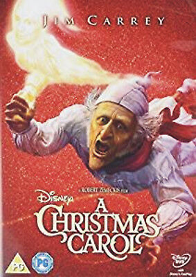 Disney's A Christmas Carol (DVD, 2015) Jim Carrey