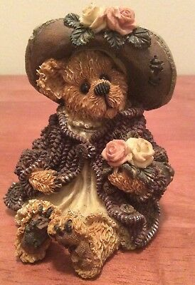 """1999 Boyds Bears """"Mrs. Tuttle...Stop & Smell the Roses"""" # 228315"""