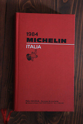 Guide Rouge Michelin ITALIA 1984