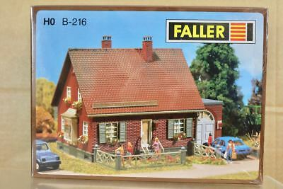 FALLER B-216 HO SCALE SMALL DETACHED HOUSE BUILDING MODEL RAILWAY KIT nq