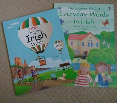 Collins Very First Irish Words with CD and Everyday Words in Irish