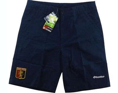 2014-15 Genoa Lotto Bermuda Travel Shorts *bnib Size S S1