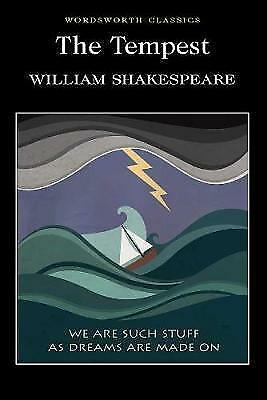The Tempest (Wordsworth Classics) by William Shakespeare, Paperback Book, New, F