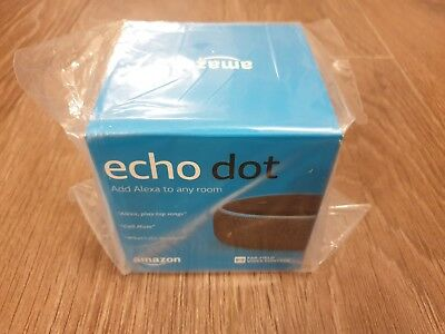 Amazon Echo Dot 3rd Generation Smart Speaker with Alexa - Charcoal Fabric