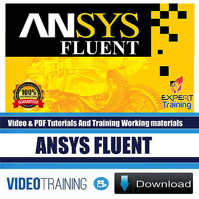 ANSYS Fluent Video Training and PDF Tutorials With Working Files DOWNLOAD