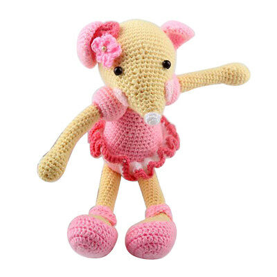 Creative Mouse Doll Crochet Kits Make Your Own Crochet Animal Stuffes Toy