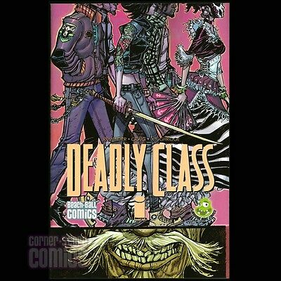 DEADLY CLASS #1 Beach Ball Comics/Laughing Ogre EXCLUSIVE Canete Variant IMAGE!