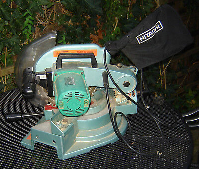 Hitachi C 10FCA 255mm Circular Compound Saw 1640w Spares not working