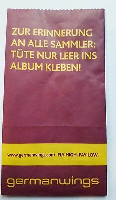 germanwings SPUCKBEUTEL - Air Sickness Bag