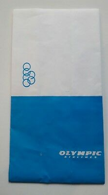 OLYMPIC Airlines SPUCKBEUTEL - Air Sickness Bag
