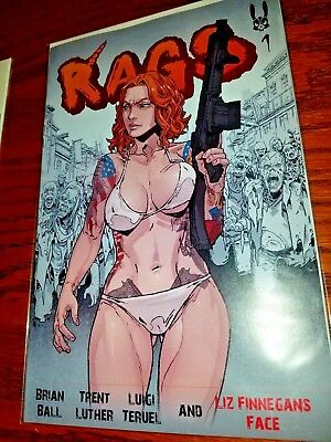 RAGS #1 Mint Rare Self-Published Issue! Pre-Antarctic Press