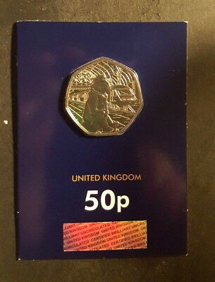 change checker  2018 UK Paddington at Station CERTIFIED BU 50p  - Free Post!