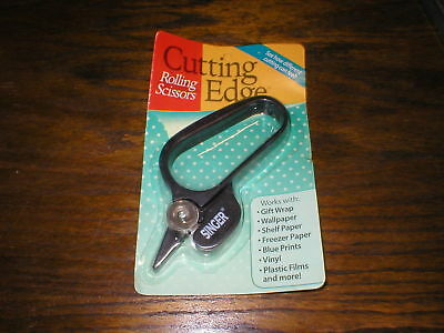 VTG Singer Cutting Edge Rolling  Scissors All Types Of Paper New In Package