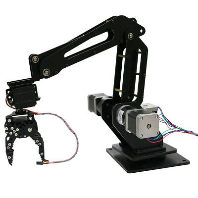 Writing Engraving 3DOF Mechanical Robot Arm Clamp Claw Manipulator Kit