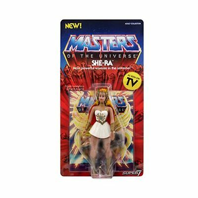 Genuine Masters Of The Universe SUPER 7 Vintage Collection SHE-RA Action Figure