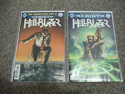 Dc Rebirth The Hellblazer #5 #7 Constantine (Dc Comics)