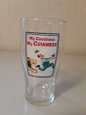Guinness English Pint Glass My Goodness My Guinness 20 Ounce