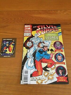 SILVER SURFER ANNUAL 6 (VOL3). NM COND. 1993. 1st LEGACY. UNSEALED WITH T/C  +1