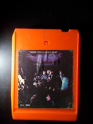 8-Track / 8-Spur Tonband /Cartridge :  Crosby,Stills,Nash, Young- 4 Way Street