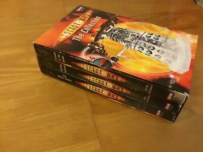 Doctor Who The Collection box set of 3 books