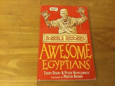 Awesome Egyptians by Terry Deary (Paperback, 2007)