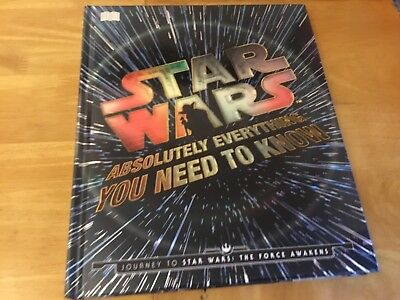 Star Wars: Absolutely Everything You Need to Know by DK Publishing (Dorling Kind