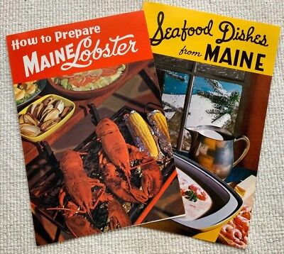 How To Prepare Maine Lobster & Seafood Dishes From Maine-Recipe Promos