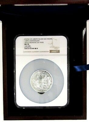 Statue of Liberty Silver 5 oz Medal