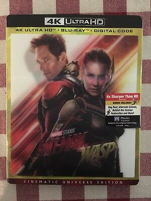 Ant Man and the Wasp 4k Ultra HD + Blu-Ray + Digital Code