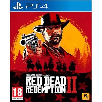 Red Dead Redemption 2 PS4 hardly used All codes unused